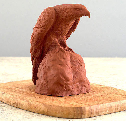 How to Model an Eagle in Clay
