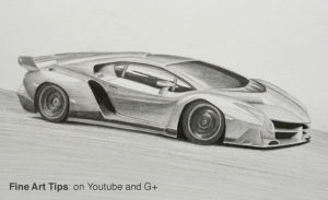 Classes on Drawing Cars