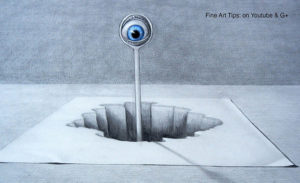 Classes on Drawing Optical Illusions & 3D