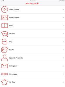 Fine Art-Tips Mobile App